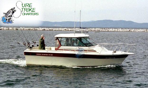 Sure Strike Charters Sport Fishing Lake Champlain