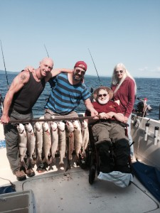 July 18 , 2014 Limit Lake Trout