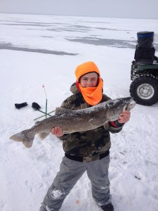 Lake Trout Feb , 2015