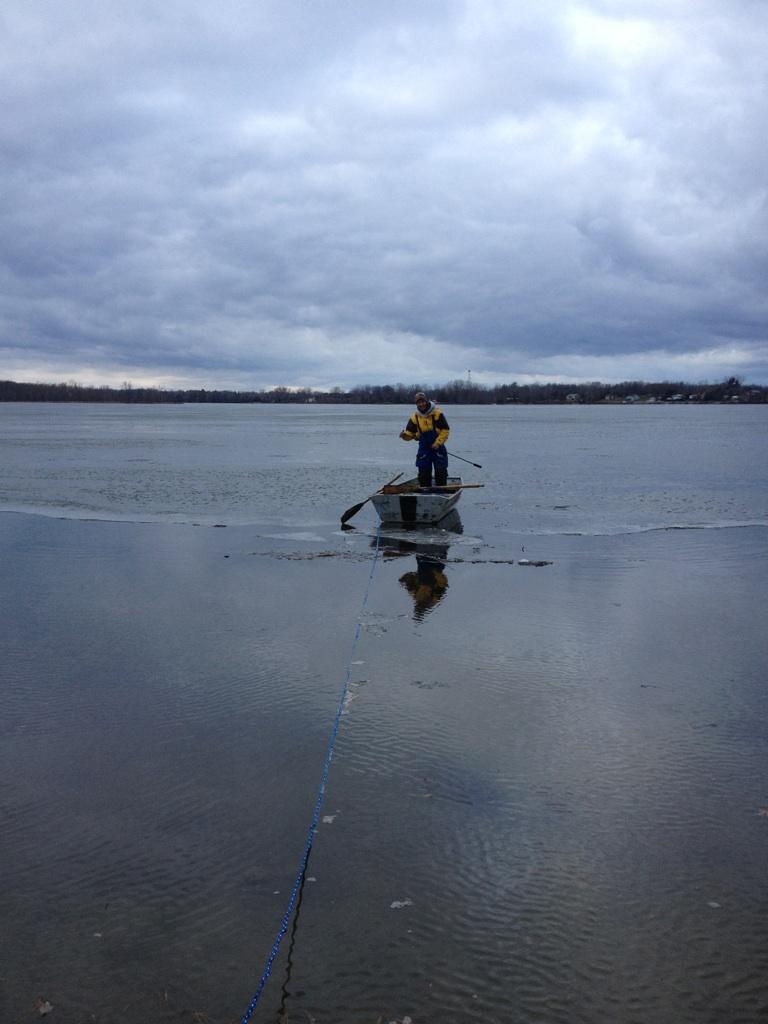 Sure strike charters sport fishing lake champlain ice for Lake champlain fishing report