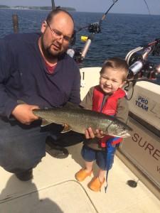 May 17 , 2015 Lake Trout