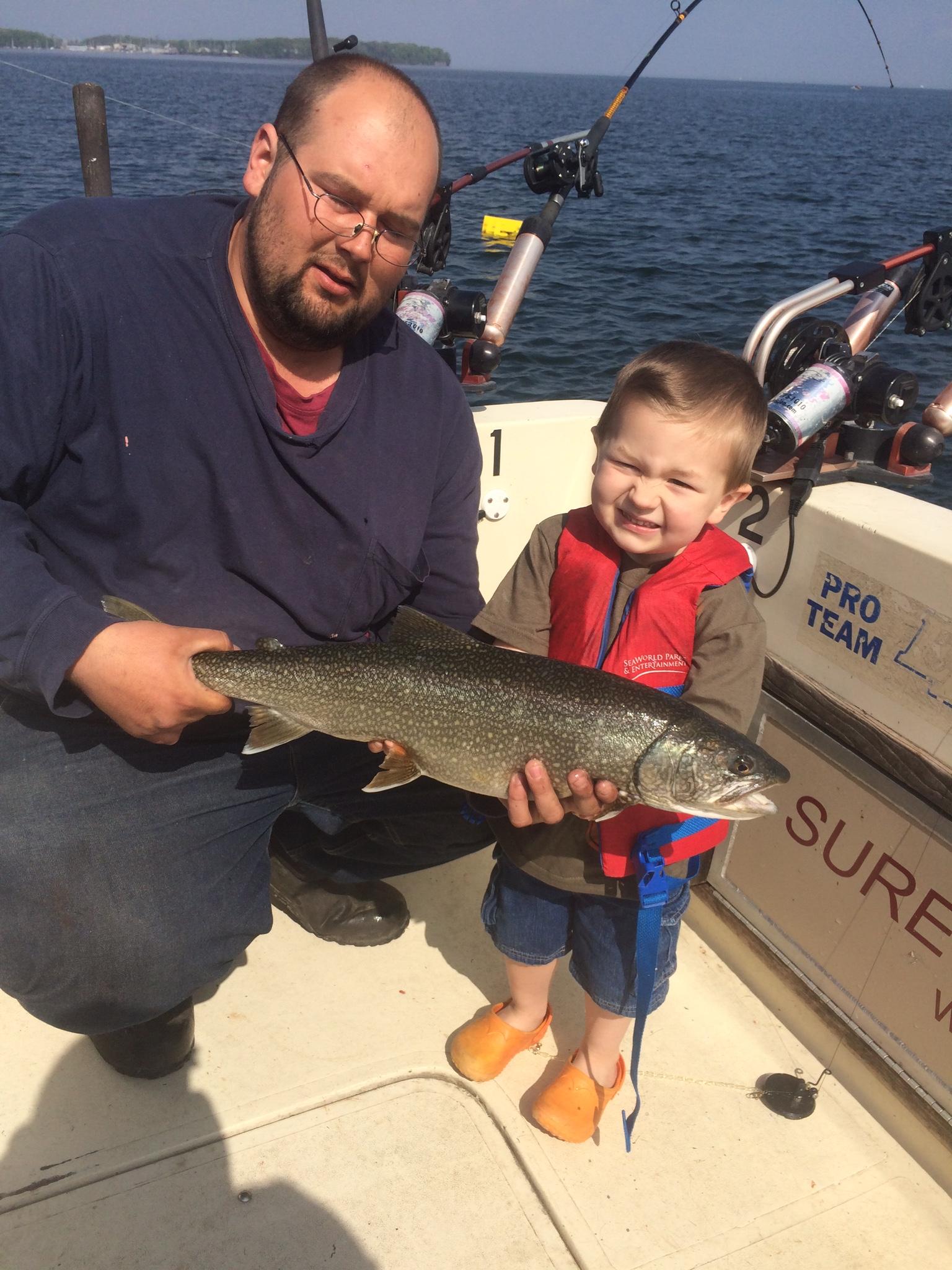 Sure strike charters sport fishing lake champlain the for Lake champlain fishing report