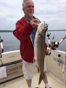 May 24 , 2015 Lake Trout