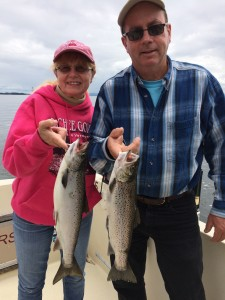 June 28 , 2015 Salmon and Brown Trout