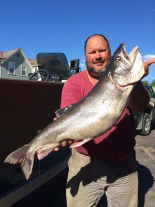 August 22 , 2015 Lake Trout 35 inches 16.63 lbs.