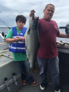 July 17 , 2016 Salmon