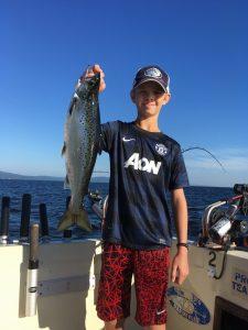 July 27 , 2016 Salmon