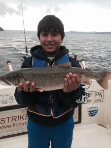 June 25 , 2014 Lake Trout