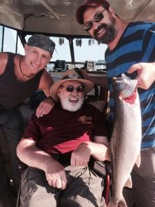 July 18 , 2014 Jerry's big Lake Trout
