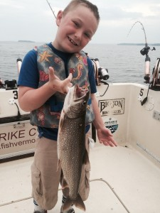 August 4 , 2014 Lake Trout