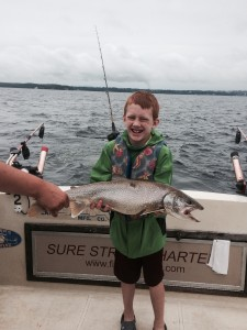 August 22 , 2014 Lake Trout