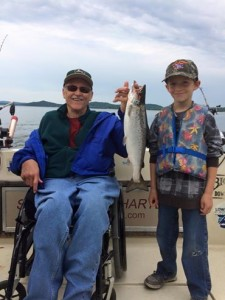 June 12 , 2015 Nice Salmon