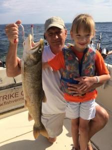 July 21 , 2015 Lake Trout