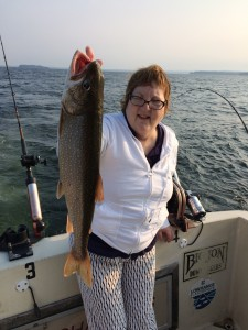 August 31 , 2015 Lake Trout
