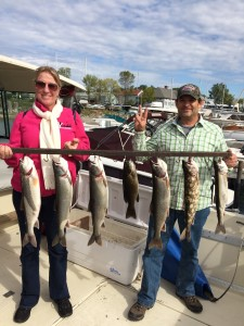 Sept 28, 2015 Lake Trout and Bass