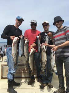June 4 , 2016 Salmon and Lake Trout