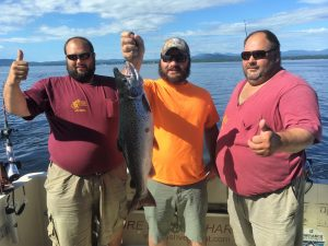 August 7 , 2016 Salmon 10.12 lbs. Boat Record