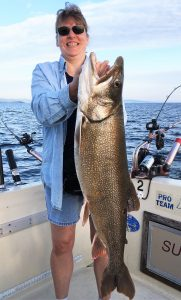 September 10 , 2016 Huge Lake Trout 38 inches