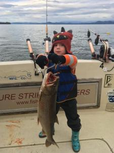 May 3 , 2017 Lake Trout